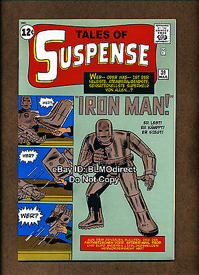 1999 Tales Of Suspense #39 NM- Euro Variant 1st Appearance Iron Man Gray Armor
