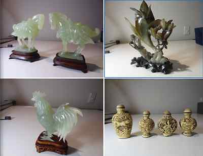 Antique Jade Carvings & Chinese Collectables