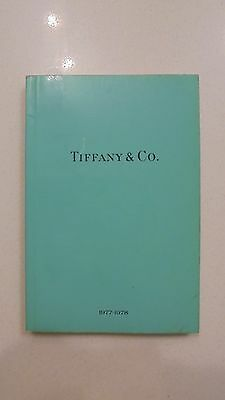 Rare Original Tiffany & Co. 1977-1978 Bluebook Catalog