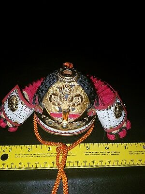 Japanese samurai armor Kabuto helmet replica doll high quality