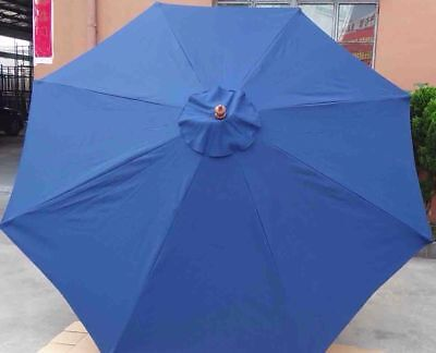 3m parasol/umbrella replacement canopy in natural-good Quality 180g/m2