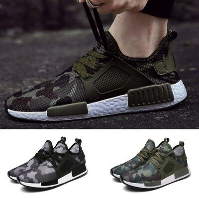 Mens Popular Athletic Casual Sneakers Outdoor Running Breathable Sports Shoes UK