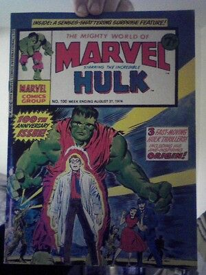 Mighty World of Marvel #100 Incredible Hulk