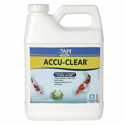 API Pond Care Accu-Clear 946Ml Clean Pond Water Clear Fish Tank Aquarium