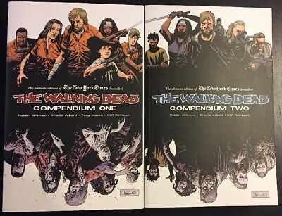 The Walking Dead Compendium 1 And 2- Excellent Condition