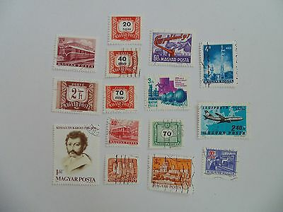 L1762 - Mixed Hungary Stamps
