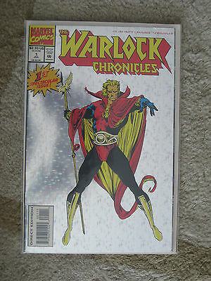 The Warlock Chronicles #30 - Holografix and embossed (Marvel Comics) 1st Print