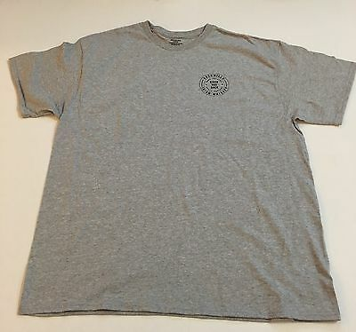 Bushmills Brand Irish Whiskey Heather Gray Sz XL Spell Out T-Shirt NWOT