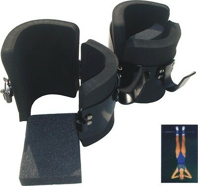 New - Magnum Gravity Inversion Boots - Professional Muscle Shaper - Steel Black