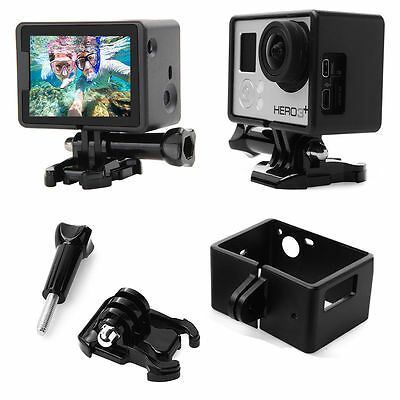 Wide Border Frame Mount BacPac Protective Housing per Gopro Hero 3 3+ 4 OS181