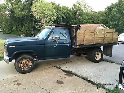 1980 Ford F-350 Ranger 1980 Ford F350 1-Ton Dually Dump Truck PTO Driven