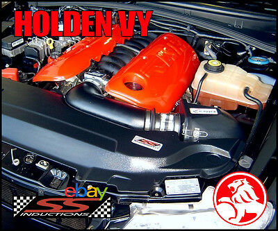 Holden Vt-Vu-Vx-Vy V8 5.7 Geniii - Ss Inductions Growler Cold Air Induction