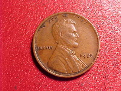 1920-P        Lincoln Cent  NICE HIGH GRADE