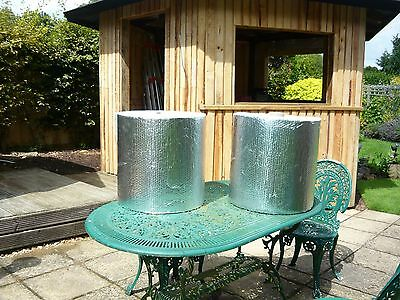 INSULATION DOUBLE SIDED ALUMINIUM BUBBLE WRAP 44 METERS X45CM=APPROX 22SQ m