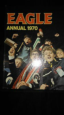 Eagle Annual 1970 Vintage Boys Adventure Hardback Book Rare
