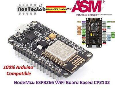 NodeMcu CP2102 Lua WiFi Internet of Things development Board based ESP8266