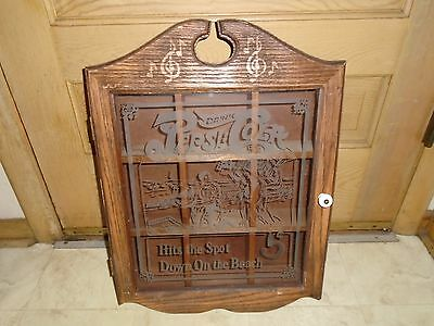 Vintage Drink Pepsi Cola Wall Wood Cabinet Shadow Box Crate Curio