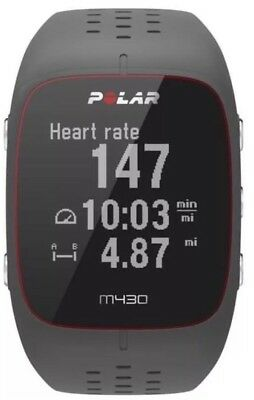 Polar M430 Gps Running Watch with Wrist-Based Heart Rate - GREY - NEW