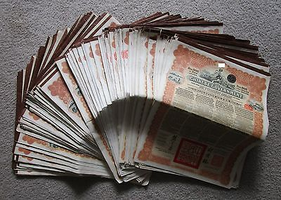 China 1913 Chinese Reorganisation Gold Loan Bond £20 NOT Super Petchili, Farmer