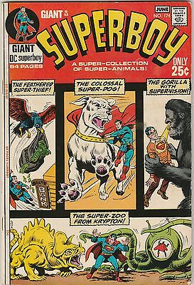 DC SUPERBOY #174 GIANT G83 Very Good Plus Condition 64-pager from 1971 SUPER DOG