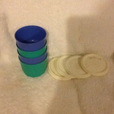 Tupperware Snack Cups -used