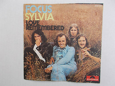 "Focus - Sylvia ( 7"" Single, 1972, Z= 1-2 )"