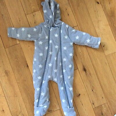 M&S Marks and Spencer's Baby Boys Snowsuit Coat - 6-9 Months