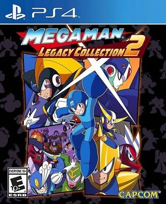 Mega Man Legacy Collection 2 Megaman PS4 Game Brand New