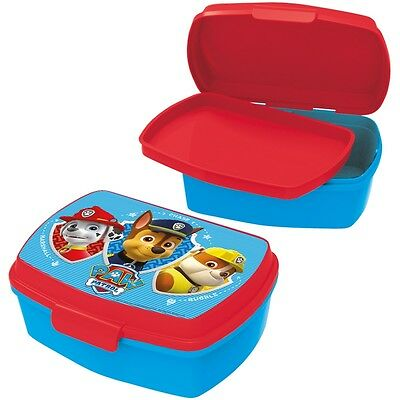 Kids/Children Character Paw Patrol - Sealable School Snack/Lunch Box With Tray