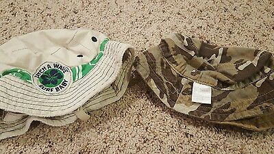 Lot of 2 Boys Summer Hats