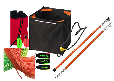 Throw Line Kit with 5 throw Weights, Cube, Big Shot and Dynaglide THROWKITDELUXE