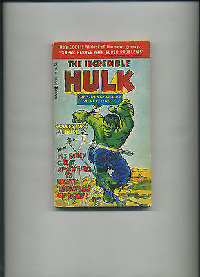 Lancer Books - Incredible Hulk Collector's Album paperback 1st Print 1966 Ditko!