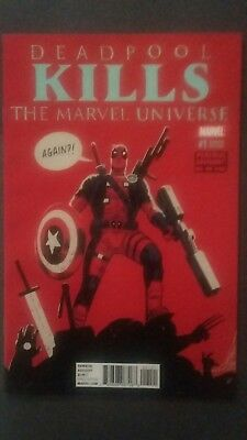 Deadpool Kills The Marvel Universe Again #1 Variant