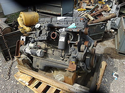 Cummins 6.7 L Turbo Diesel Engine QSB COMPLETE GOOD RUNNER LOW LOW HOURS!