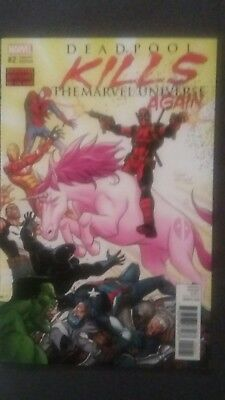 Deadpool Kills The Marvel Universe Again #2 Variant
