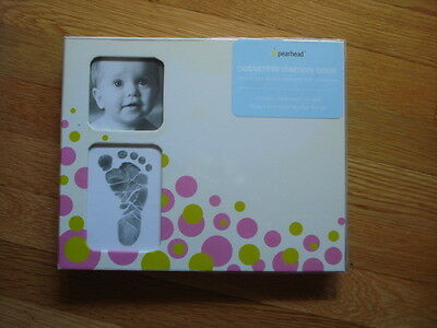 NEW Pearhead brand Babyprints memory book
