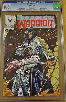 Eternal Warrior #4 Cgc 9.6 Nm+ 1St Appearance Bloodshot 1992 Valiant New Movie