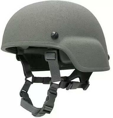 Gentex (ACH) Advanced Combat Helmet, Ballistic Kevlar, New, OD Green, Size Small