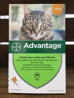 Bayer Orange for Cats Under 9lbs 4-Pack FREE SHIPPING