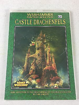 1992 Warhammer Castle Drachenfels Dark Adventure Sargent GW NOS - Estate