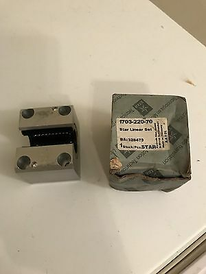 REXROTH Star Linear Bearing 1703-220-70  ***NEW*** (Just One)