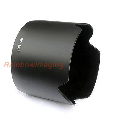 Flocking Bayonet Lens Hood for Canon EF 24-70mm f/2.8L USM Lens replaces EW-83F