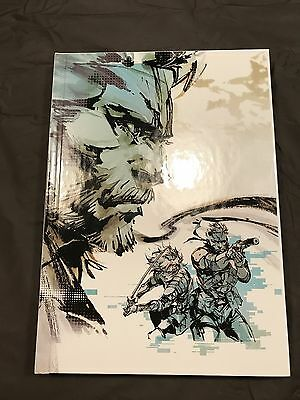 The Art of Metal Gear Solid HD Collection Art Book Hardcover *EXCELLENT*