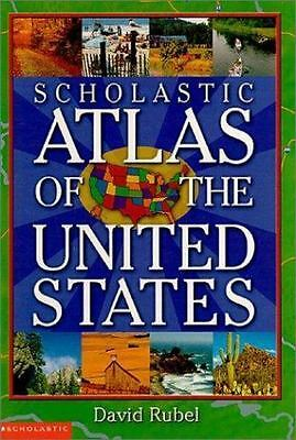 Scholastic Atlas of the United States by David Rubel (2003, Paperback)