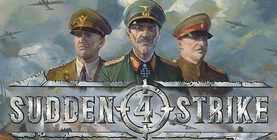 Sudden Strike 4 - PC Global Play Not Key/Code - Günstigs