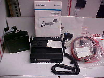 FINAL Motorola mc micro mobile radio vhf mau33eza3j22ak mic spkr harness #12d16