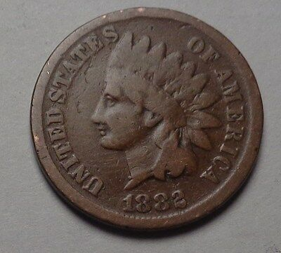1882 Indian Head Cent,nice Coin!!!(T)