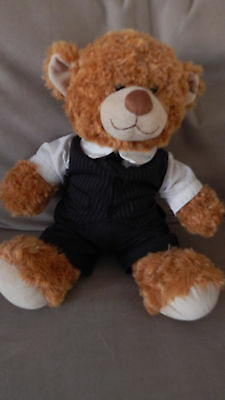 Genuine Build A Bear Teddy in a suit