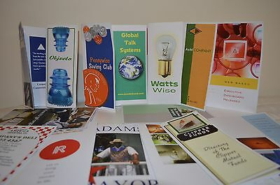 "100 8.5x11"" Full Color 1or2 Sided Custom Brochures Flyers Menus Copy Printing"