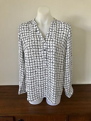 Angel Maternity Button Work Blouse Size S